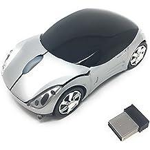 iyuttech ratón inalámbrico coche ratón óptico ratón para juegos ratón ergonómico diseño, 2.4G ratón inalámbrico, diseño de coche modelo de coche