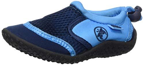 Aqua-Speed Aquaschuhe - Wasserschuhe Für Strand - Meer - See - Ideale Badeschuhe Als Schutz Für Füsse - #AS14, Navyblau/Blau, 31