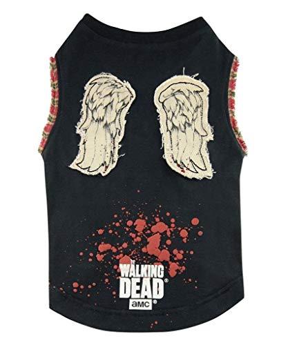 The Walking Dead Daryl Wings Dog Tshirt (Medium) -