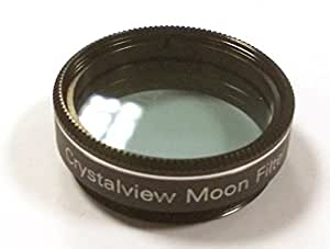 """New for 2012 - Ostara Crystalview 1.25"""" Moon / Skyglow filter for telescope eyepiece. Boxed"""