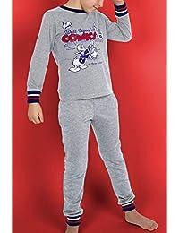 Disney Pijama Manga Larga Donald Racket para Niños