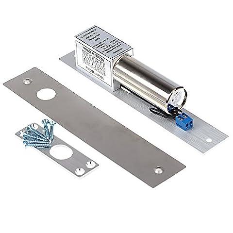 KKmoon Electric Drop Bolt Door Lock DC 12V Magnetic Induction