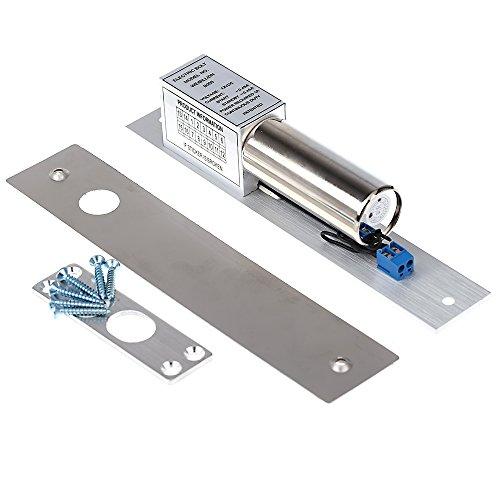 KKmoon Serratura Elettrica Electric Door Lock DC 12V Induzione Magnetica Catenaccio Automatico per la sicurezza del sistema di controllo di accesso