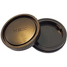 Copri Obiettivo VHBW per Fotocamera Sony NEX 7, NEX 5N, NEX C3, NEX 5, NEX 3, NEX 6, NEX 5R, NEX F3, NEX-VG10, Alpha 6000 5000 3000 7 7R 7S.
