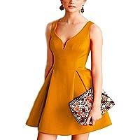 E Support Donna KB Rosso Abito stile Vintage Anni'50s