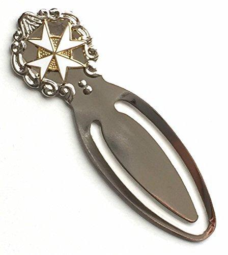 masonic-malta-white-maltese-cross-enamel-crested-bookmark-gift-bag-k064