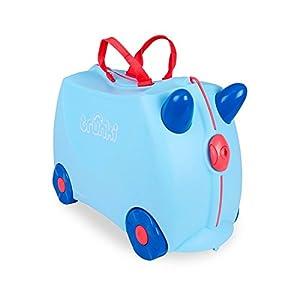 Trunki Koffer für Kinder George (Zartblau)