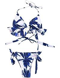 13633c9a1882 Amazon.es: cuadros blanco y negro - 2XL / Conjuntos / Bikinis: Ropa