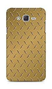 Amez designer printed 3d premium high quality back case cover for Samsung Galaxy J7 (goldish brown)