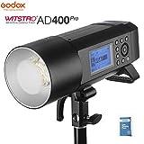 Godox AD400Pro Profesional Flash Compatible con TTL y HSS Para Nikon Canon Sony Fuji Olympus, Panasonic (AD400Pro)