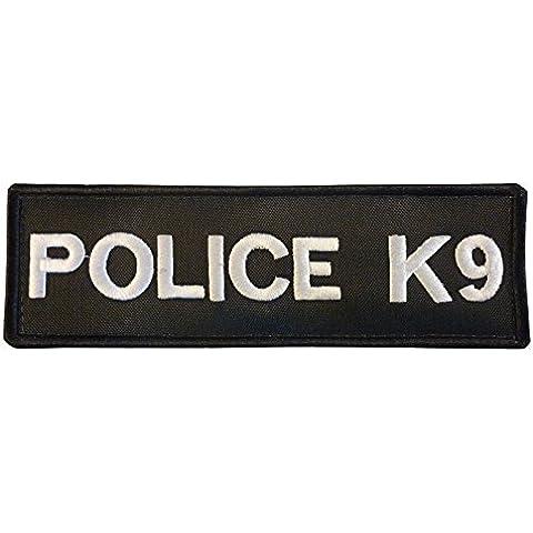 K-9 Harness POLICE K9 Dog Nylon Velcro Toppa Patch