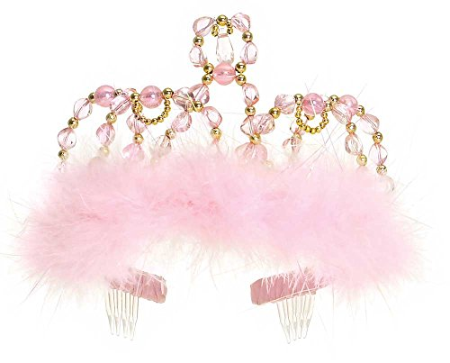 Prinzessinnen-Diadem rosa-gold