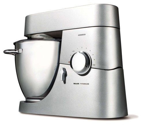 Kenwood - Km 020 - Robot Ménager - Major Titanium - 1500W - 6.7L - Argent