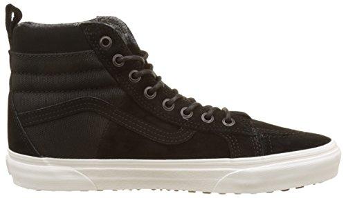 Vans Herren Sk8-Hi 46 MTE DX Hohe Sneaker Schuhe Schwarz (Black/flannelmte)