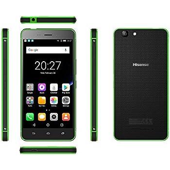 "Hisense C30 ROCK Lite Dual SIM 4G 16GB Black, Green - Smartphones (12.7 cm (5""), 16 GB, 8 MP, Android, 7.0 Nougat, Black, Green)"