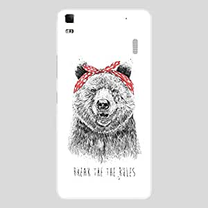 Back cover for Lenovo A7000 Break the the RULES