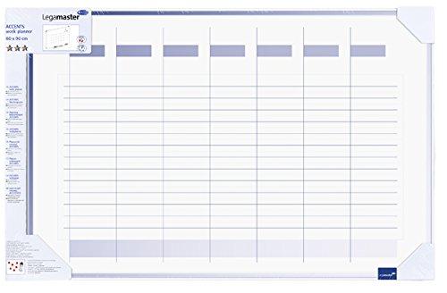 Legamaster Planungstafel Accents Linear Cool - Woche, 90 x 60 cm