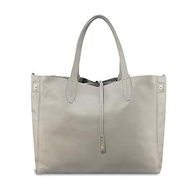Cool Picard Womenu0026#39;s Top-Handle Bag Grey Stone - We Love Bags