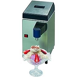 """Machine professionnelle à crème chantilly """"SWHIP"""". Production horaire : 50 litres."""