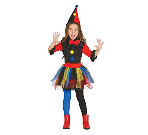 Imagen de disfraz de payasa asesina infantil
