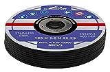 100 Stück Inox Trennscheiben 125 x 1,0 mm Flexscheibe