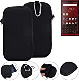 K-S-Trade® Neoprene Sleeve For Blackberry KEY2 Red Edition