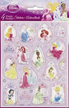 Disney Princess Stickers (4 sheets)