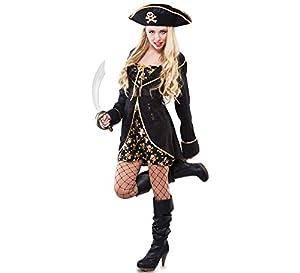 Fyasa 706147-t04noche disfraz de pirata, grande