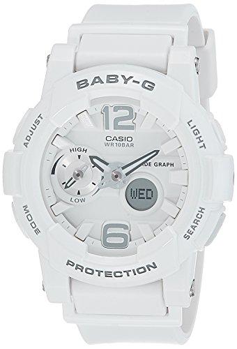 Casio Baby-G Analog-Digital White Dial Women's Watch - BX026