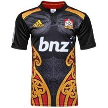 Adidas - Camiseta de rugby de los Chiefs, negro A95863, XXXL
