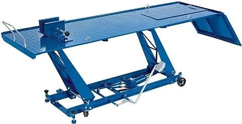 DRAPER levage hydraulique pour moto 450 kg-construction en acier robuste