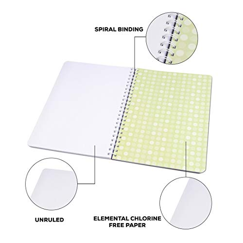 Classmate Premium 6 Subject Spiral Notebook - 203mm x 267mm, Soft Cowl, 300 Pages, Unruled Image 7