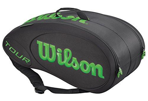 Wilson Tennistasche Schwarz