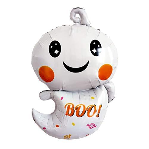 Amosfun Halloween-Ballon-Aluminiumfolie-Ballon-Halloween-Geist-Party-Dekoration