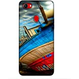 For Oppo F7 Beautiful Ship ( Beautiful Ship, Ship, Big Ship, Cloud, Niec Ship ) Printed Designer Back Case Cover By King Case