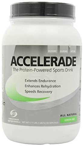 Accelerade Sports Drink Powder 60 Serving Lemon Lime by Accelerade