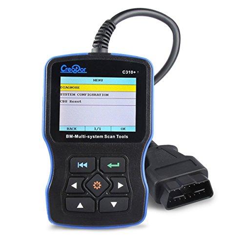 neuesten V7.2Creator C310+ für BMW/Mini OBD OBD II Code Scanner Full System Check ABS/SRS/DSC/Motor-/EPS/Auto Übertragung/Klimaanlage/Instrument Diagnostic Scan Tool (Obd Ii Scanner Abs)