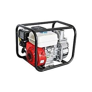 Bomba de agua motobomba 30000 L/H litros hora motor gasolina 4 tiempos 9,5 HP