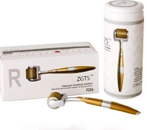 ZKKZ 192 Titanium Derma Roller, Aging Uplifting Whitening Regeneration, Behandlung von Aknenarben, Haut, Haarausfall, Mitessern, Linien, Sonnenschäden (Size : 1.5mm) - Derma-peeling-behandlung