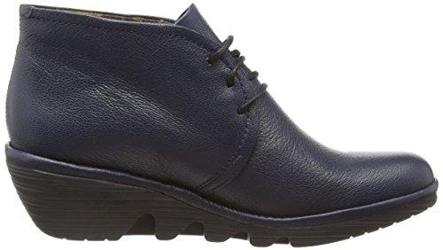 FLY London Damen Pert Desert Boots Blau (Ocean 039)