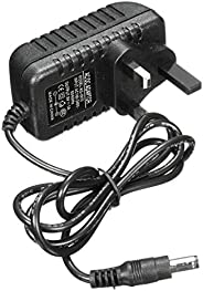 AC IN 110-240V OutPut DC 9V 1A Power Supply Adapter Charger UK Plug