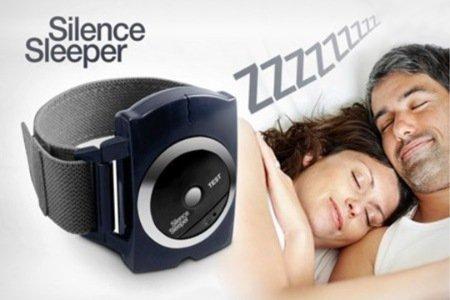 Gadget Hero's Gadget Hero's Snore Stopper Bio Feedback IR Infra Red Sleep Apnea Wrist Band Anti Snore Device