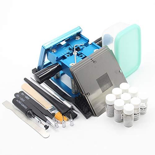 XZANTE Bga Fixtures 90X90 Reballing Station Reballing Bga Sik Zinn Vorlage Für Laptop Spiel Console 10 Stücke Schablone Helfen Lotpaste (Reballing Station Bga)