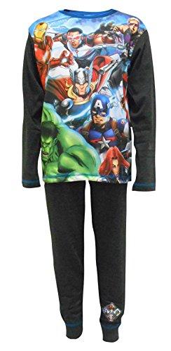 Marvel Avengers Superheld Gang Jungen Nachtwäsche Schlafanzug 4-5 Jahre (110cm)