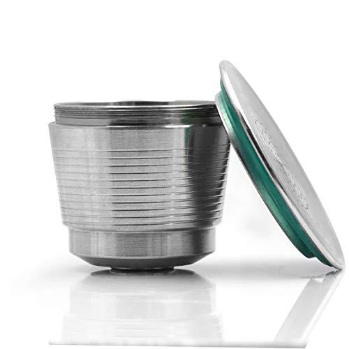Filtro reutilizable recargable de la cápsula del café del acero inoxidable compatible para la máquina del café de Nespresso U
