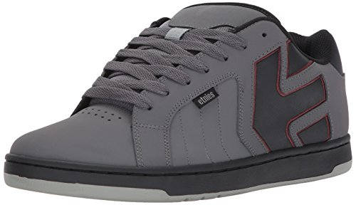 Etnies Fader 2, Chaussures de Skateboard Homme, Gris (Grey/Black/Red), 41 EU
