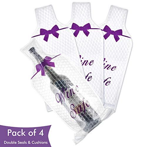 Ikkle Recipiente para Botellas Fundas para Vino