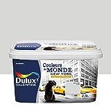 Dulux Valentine 5254042 Monde-Edition Collector Einstrichfarbe, alle Innenräume, Newyork hell (Grau), 2,5 l