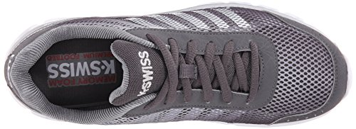 K-Swiss Performance X Lite Athletic Cmf, Chaussures de fitness homme Charcoal/High Rise/White