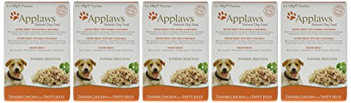 Applaws Natural Dog Food, Multipack, Finest Collection,In Jelly Pouch, 100g (Total Pack of 20) 2